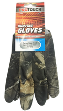 Camouflage Reinforced Palm Non-Slip Hunting Gloves, 1 Pair