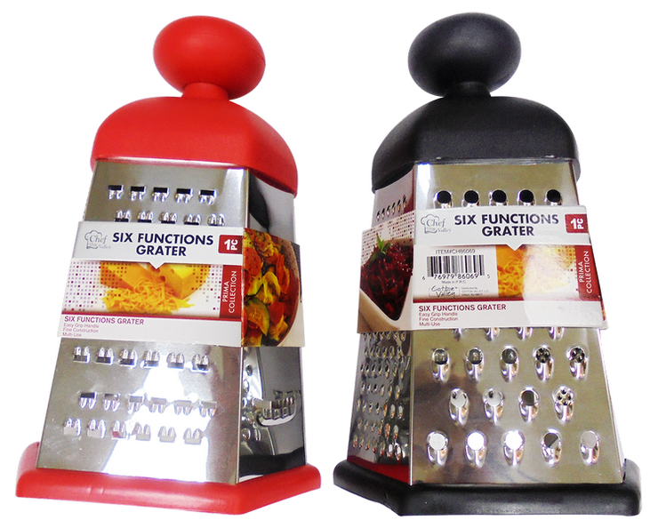 6 Sided Function Grater Prima Collection, 1-ct.
