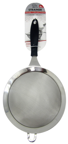 Stainless Steel Strainer Prima Collection, 18""