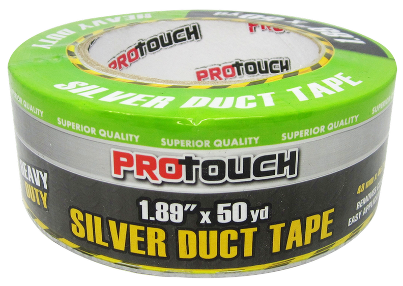 "ProTouch Heavy Duty Silver Duct Tape, 1.89"" x 50 yards, 1 ct."
