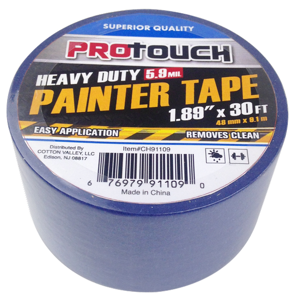 "ProTouch Heavy Duty Painter Tape 5.9 mil, 1.89"" x 30 feet, 1-ct."