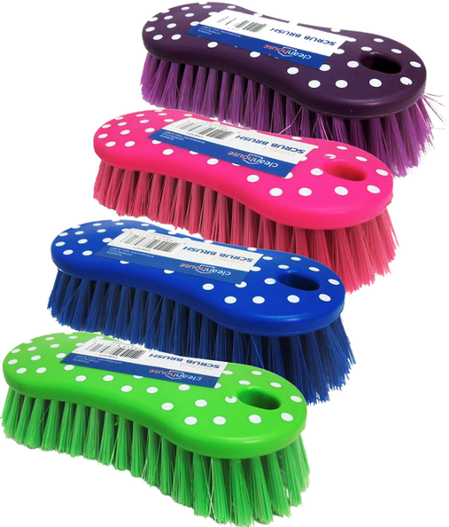 Printed Design Scrub Brush, 1-ct.
