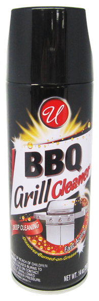 BBQ Grill Cleaner, 14 oz.