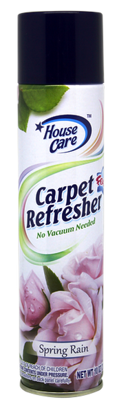 House Care Carpet Refresher Foam Spring Rain Scent, 10 oz.