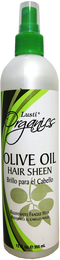 Lusti Olive Oil Hair Sheen, 12 fl oz.