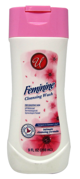 Feminine Cleansing Wash For Sensitive Skin, 9 fl oz.