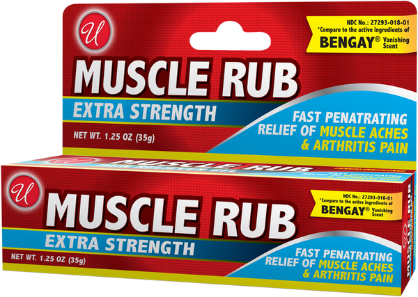 Muscle Rub Extra Strength, 0.5 oz.