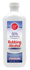 50% Isopropyl Rubbing Alcohol, 12 fl oz.