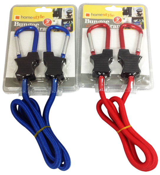 Bungee Strap Cord Carabiner, 1-ct.