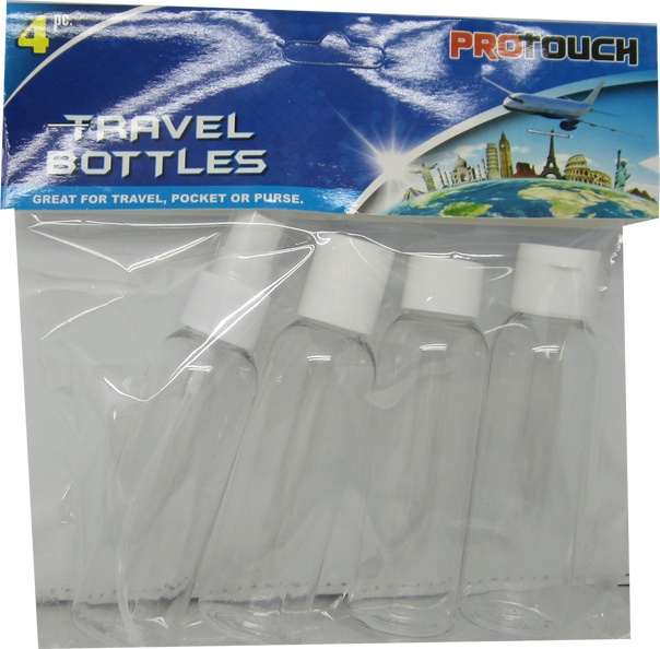 Travel Bottles, 4-ct.
