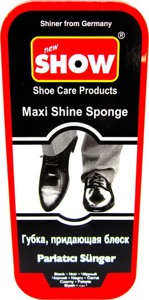 Black Maxi Shoe Shine Sponge