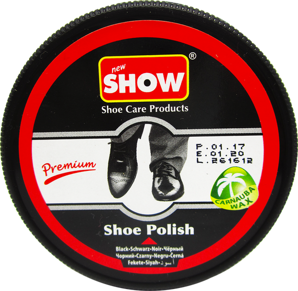 Black Premium Shoe Polish