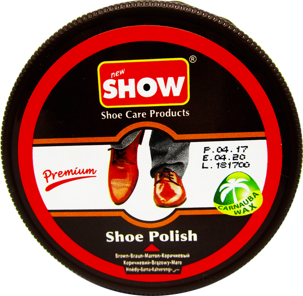 Brown Premium Shoe Polish