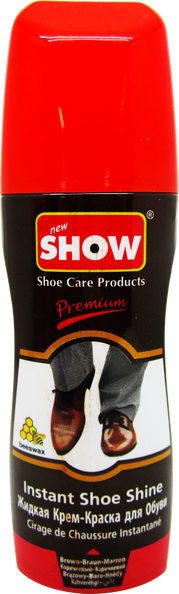 Instant Premium Brown Shoe Shine