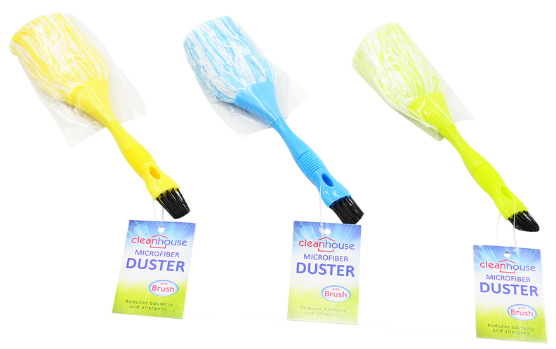 Microfiber Duster With Brush, 1-ct.