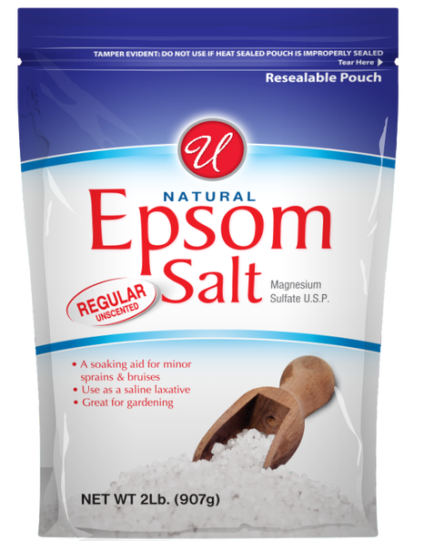 Regular Unscented Epsom Salt, 2 lb
