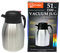 Stainless Steel Hot/Cold Vacuum Jug, 51 oz.