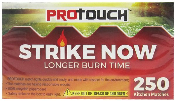 Strike Now Kitchen Matches, 250-ct.