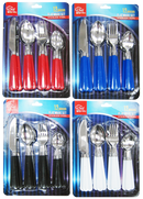 Stainless Steel Flatware Utensil Set Prima Collection, 12-ct.