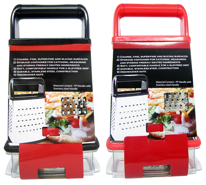 4-Sided Grater With Storage Box, 1-ct.
