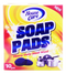 House Care Heavy Duty Soap Pads Steelwool, 10-ct