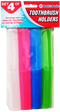Colorful Toothbrush Holders, 4-ct.