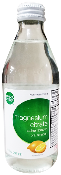 Magnesium Citrate Saline Laxative Oral Solution, 10 fl oz.