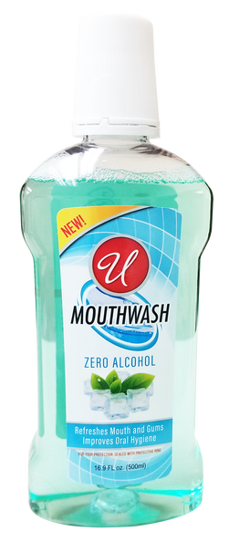 Zero Alcohol Mouthwash, 16.9 oz