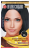 Blue Black Permanent Hair Color / Hair Dye
