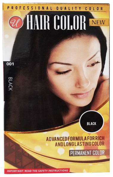 Black Permanent Hair Color / Hair Dye