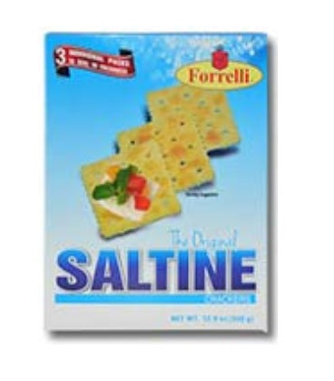 Forrelli The Original Saltine Crackers, 12oz (340g)