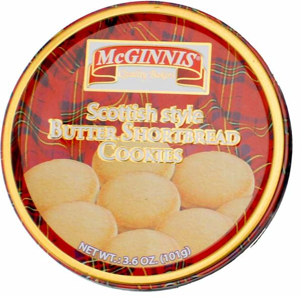 McGinnis Scottish Style Shortbread Fingers, Made in India, 3.6oz