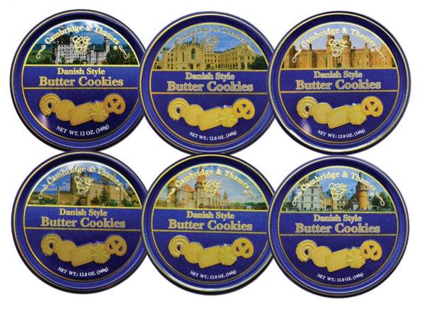 Cambridge & Thames Danish Style Butter Cookies, 4.0 oz