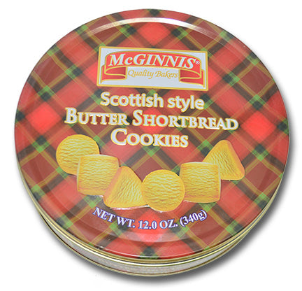 McGinnis Scottish Style Shortbread Fingers, Made in India, 12 oz