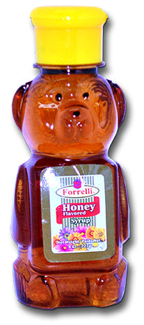 Forrelli Honey Blended Syrup, 10% Honey, 8 oz.