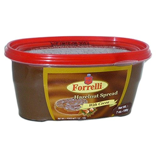 Forrelli Hazlenut Spread with Cocoa, 7 oz.