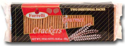 Forrelli Gourmet Crackers, 10.37oz (294g)