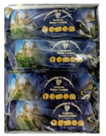 Cambridge & Thames Danish Style Butter Cookies (4 Pack), 5.5oz