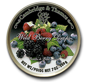 Cambridge & Thames Wild Berry Drops, Made in Germany, 7 oz.