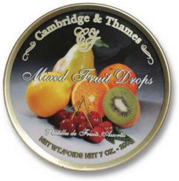 Cambridge & Thames Mixed Fruit Drops, Made in Germany, 7 oz.