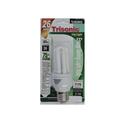 26 Watts (85 Watts Equivalent) Energy Saving Light Bulb, Day Light