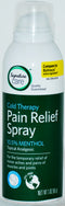 Signature Care Cold Therapy Pain Relief Spray, 3 oz (EXP 4/20)