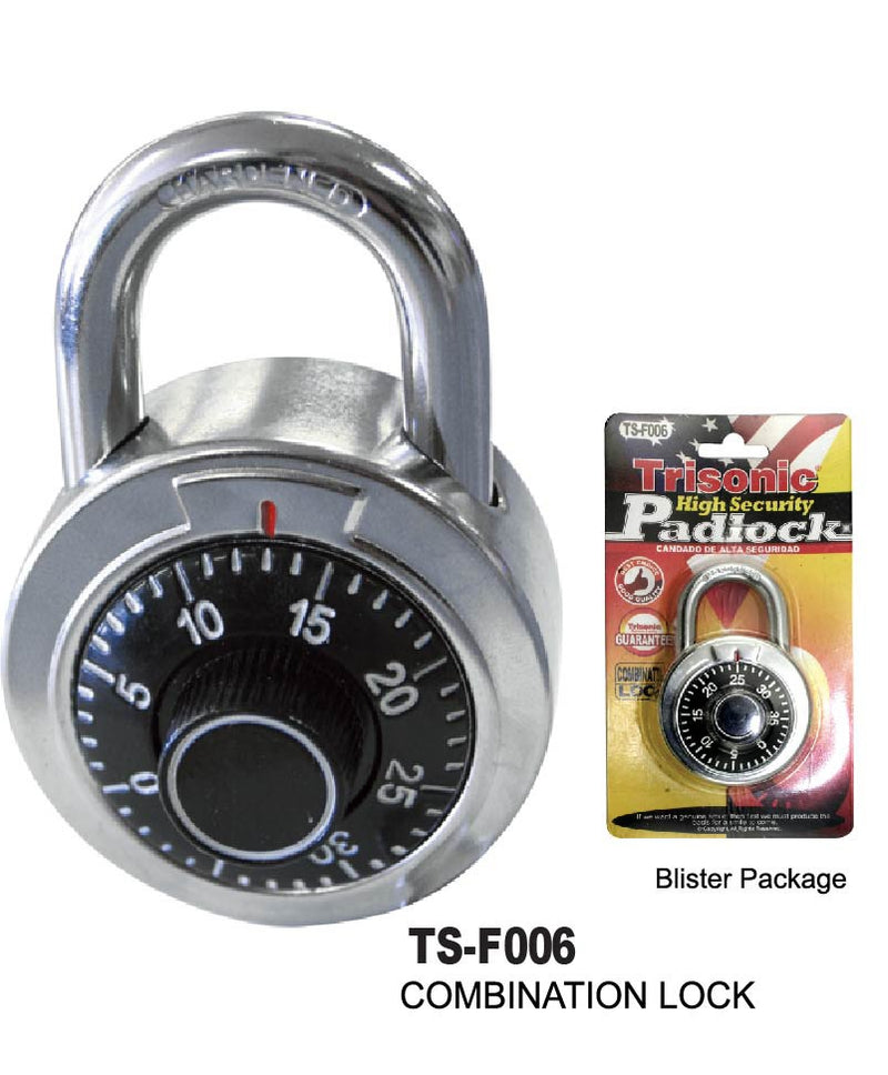 High Security Hardened Combination Padlock