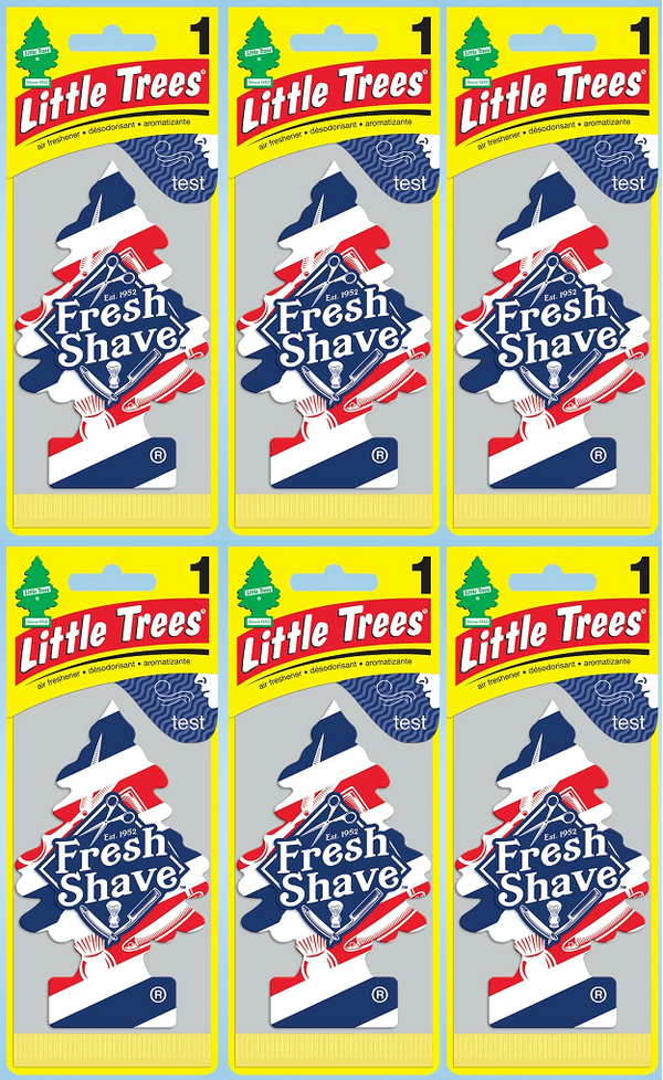 Little Trees USA Design Scent Air Freshener, 1 ct. (Pack of 6)