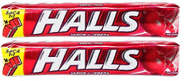 Halls Sabor A Cereza, Pack of 9 (Pack of 2)