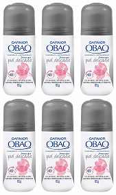 Garnier Obao for Women Piel Delicada Deodorant, 2.3 oz. (Pack of 6)