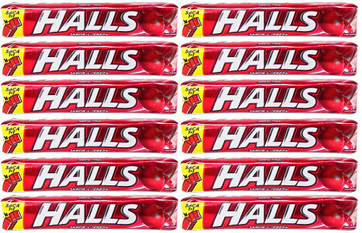 Halls Sabor A Cereza, Pack of 9 (Pack of 12)