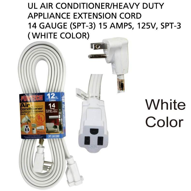Appliance Extension Cord 14 Gauge, 15 ft.