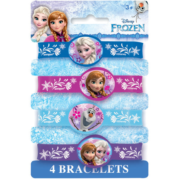 Disney Frozen Stretchy Bracelets, 4ct