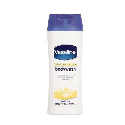 Vaseline Total Moisture Bodywash, 200ml